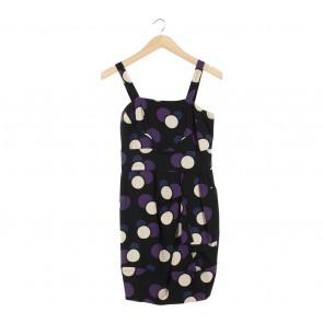 Marc By Marc Jacobs Multi Colour Polka Dot Sleeveless Mini Dress