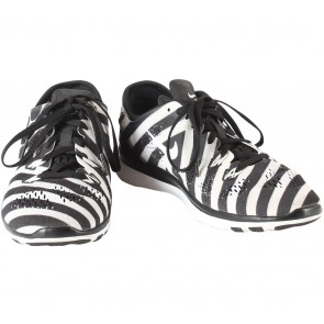Nike Black And Off White  Nike Free 5.0 TR Fit 5 Sneakers
