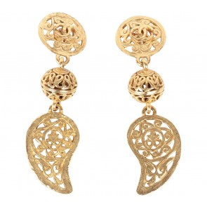 Chanel Gold Earring Jewellery