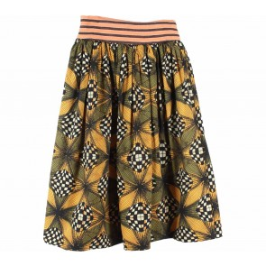 Stella Jean Multi Colour Patterned Skirt