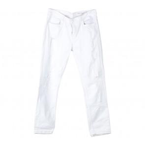 Zara White Ripped Pants