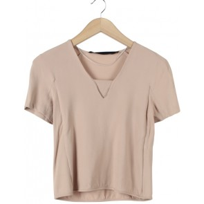 Zara Brown Blouse