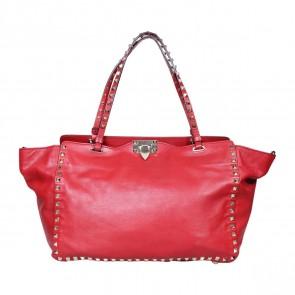Valentino Red Tote Bag