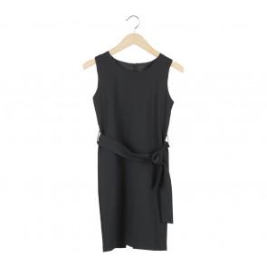 ATS The Label Black Heidy Mini Dress