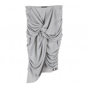 ATS The Label Grey Tied Skirt