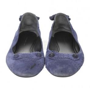 Balenciaga Blue Flats