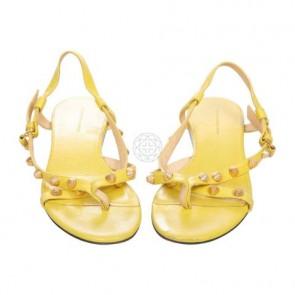 Balenciaga Yellow Sandals