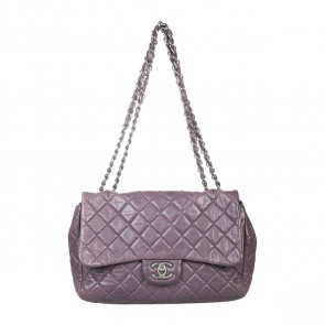 Chanel Purple Shoulder Bag