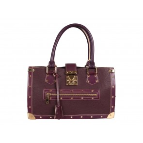 Louis Vuitton Purple Tote Bag