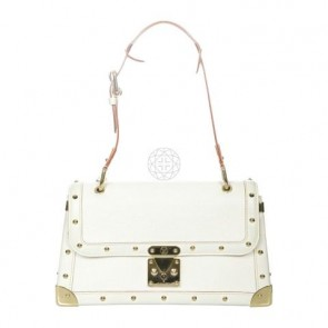 Louis Vuitton White Shoulder Bag