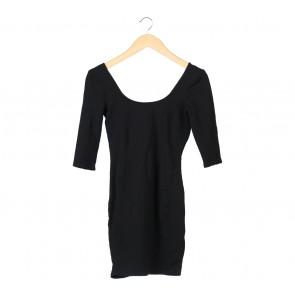 Bershka Black Mini Dress