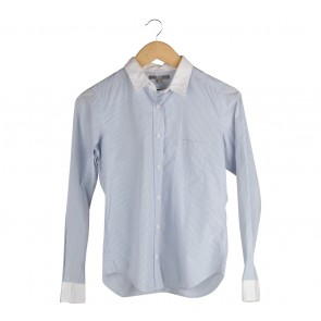 UNIQLO Blue Striped Shirt