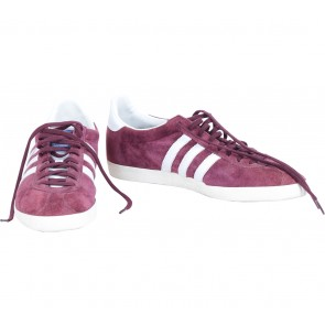 Adidas Purple And Off White Gazelle Sneakers