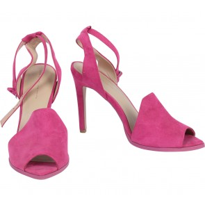 Zara Pink Ankle Strap Heels