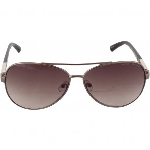 Armani Exchange Brown Aviator Sunglasses