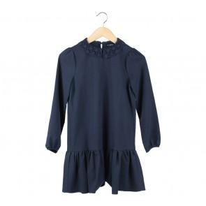 Asos Dark Blue Mini Dress