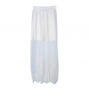 Miss Selfridge Off White Skirt