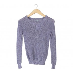 UNIQLO Purple Knit Sweater
