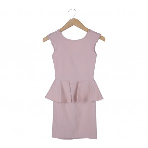 Zara Pink Mini Dress