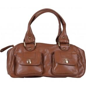 Mango Brown Shoulder Bag