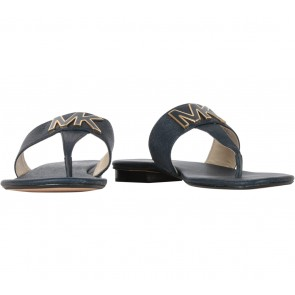 Michael Kors Blue Hayley Thong Sandals