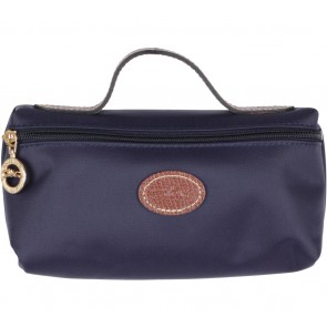 Longchamp Purple Myrtille Wallet Pouch