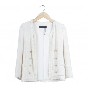 Zara Cream Outerwear