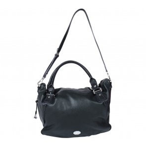 Braun Buffle Black Satchel