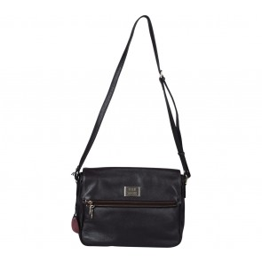Elle Dark Purple Sling Bag