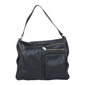 Fossil Dark Blue Shoulder Bag