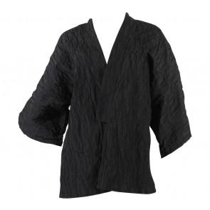 alex[a]lexa Black Textured Outerwear