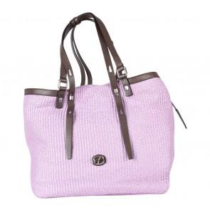 Francesco Biasia Purple Webbing Shoulder Bag