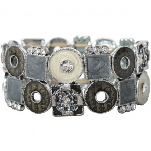 Grey And Cream Jewellery