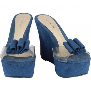 Heatwave Blue And Transparent Wedges