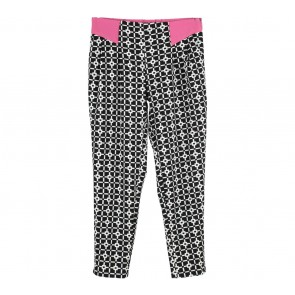 Ree Black And White Patterned Pants