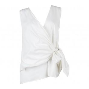 Shop At Velvet Off White Wrap Sleeveless