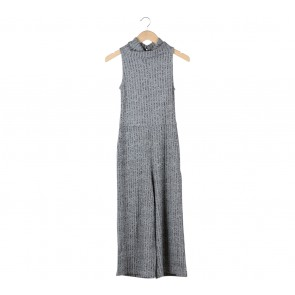 Stradivarius Grey Jumpsuit