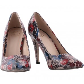 Lazada Multi Colour Floral Heels