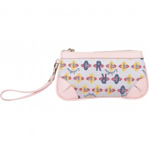 Carlo Rino Pink Pouch