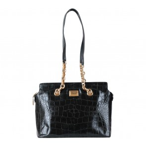 Gianfranco Ferre Black Shoulder Bag