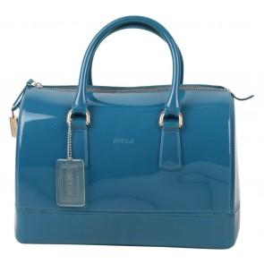 Furla Dark Blue Candy Handbag