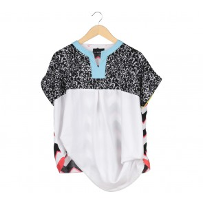 Oline Workrobe Multi Colour Blouse