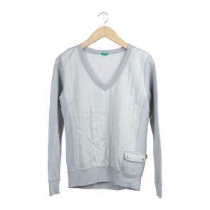 Benetton Grey Sweater