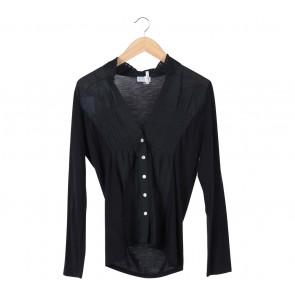 Jigsaw Black Blouse