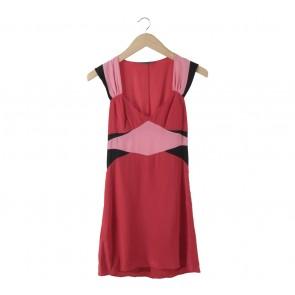 Armani Exchange Red Mini Dress