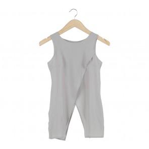 Cloth Inc Grey Sleeveless