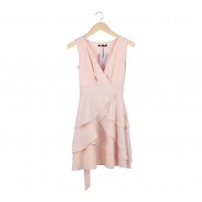 Coast Peach Ruffle Mini Dress