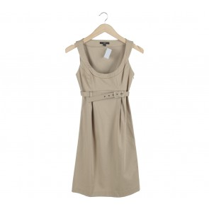 Cue Gold Mini Dress