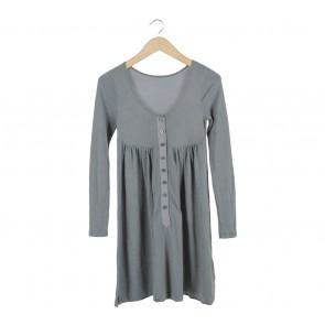 Dark Grey Mini Dress