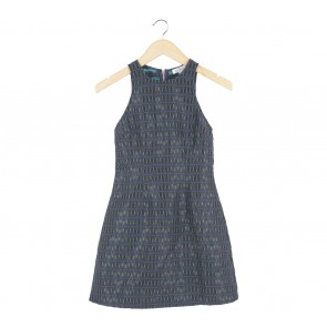 Love, Bonito Dark Blue Mini Dress